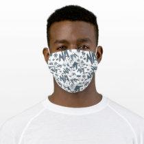NA NA NA NA NA Batman Pattern Adult Cloth Face Mask