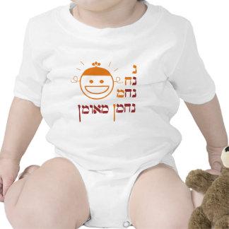 Na Nach Nachma Nachman Meuman de N Traje De Bebé