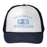 NA p-51 Mustang - BLUE Hats