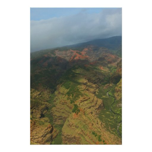 na pali coast kauai print