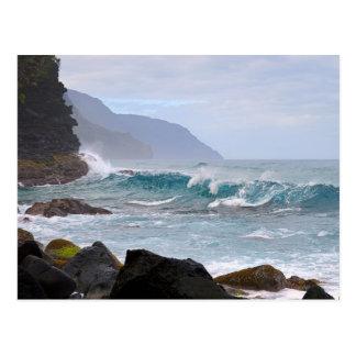 Na Pali Coast on Kauai, Hawaii Postcard