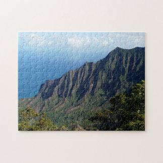 Na Pali Coast on Kauai jigsaw puzzle