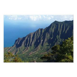 Na Pali Coast on Kauai Photo Print