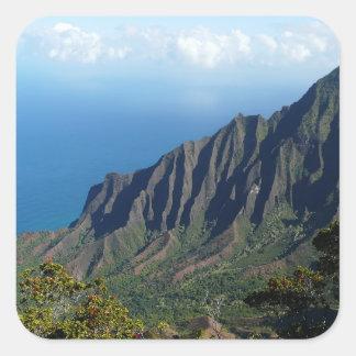 Na Pali Coast on Kauai photo sticker