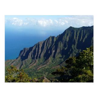 Na Pali Coast on Kauai postcard