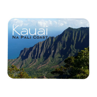 Na Pali Coast on Kauai text magnet
