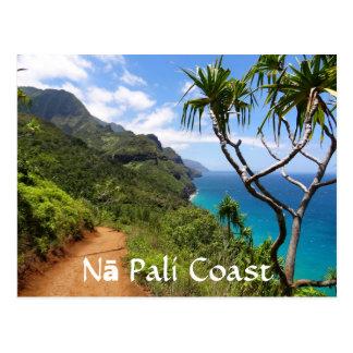 Nā Pali Coast State Park, Kauai Postcard