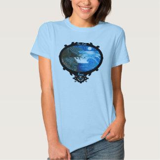 """""""Na Pali Moon"""" Na Pali Coast T Shirts"""