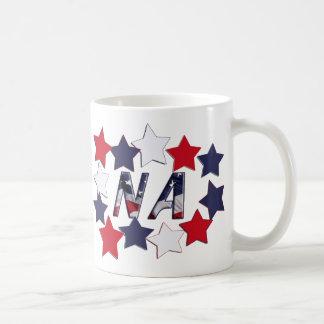 NA STARS - PATRIOTIC NURSE ASSISTANT COFFEE MUG