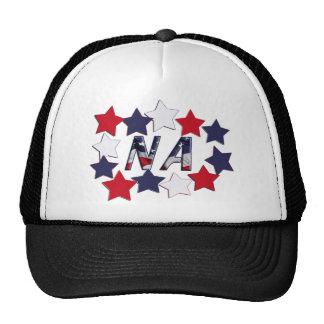 NA STARS - PATRIOTIC NURSE ASSISTANT TRUCKER HAT