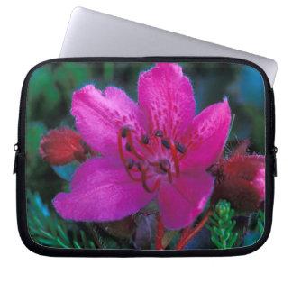 NA, USA, Alaska, Aleutian Islands, Wildflowers Laptop Sleeve