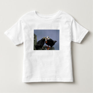 NA, USA, Alaska, Bering Sea, Pribilofs. Tufted Toddler T-shirt