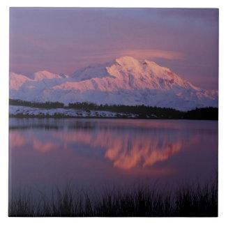 NA, USA, Alaska. Denali National Park. Mt Ceramic Tiles