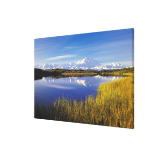 NA, USA, Alaska, Denali NP Mt. McKinley in Canvas Print