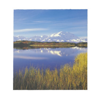 NA, USA, Alaska, Denali NP Mt. McKinley in Note Pad
