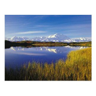 NA, USA, Alaska, Denali NP Mt. McKinley in Post Card