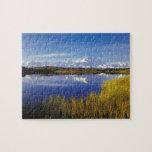 NA, USA, Alaska, Denali NP Mt. McKinley in Jigsaw Puzzles