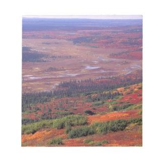 NA, USA, Alaska, Denali NP, View of McKinley Note Pad