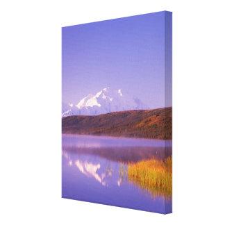 NA, USA, Alaska, Denali NP, Wonder Lake, Mt. Gallery Wrap Canvas