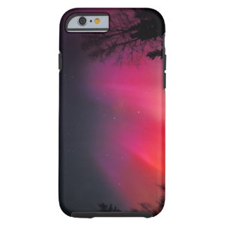 NA, USA, Alaska, Fairbanks, Curtains of pink and iPhone 6 Case
