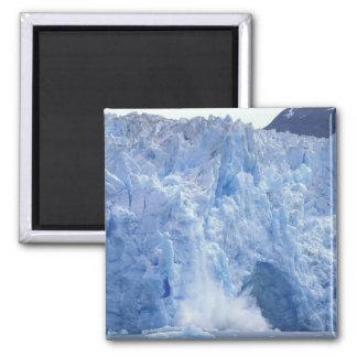 NA, USA, Alaska. Glacier crumbling into water Magnet