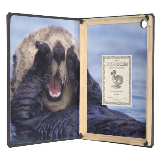 NA, USA, Alaska. Sea otters are the largest Case For iPad Air