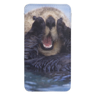 NA, USA, Alaska. Sea otters are the largest Galaxy S4 Pouch