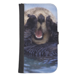 NA, USA, Alaska. Sea otters are the largest Galaxy S4 Wallet