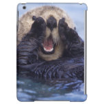 NA, USA, Alaska. Sea otters are the largest Cover For iPad Air