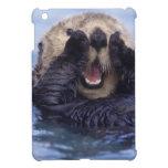 NA, USA, Alaska. Sea otters are the largest iPad Mini Cover