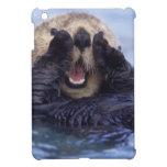NA, USA, Alaska. Sea otters are the largest iPad Mini Covers