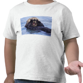 NA, USA, Alaska. Sea otters are the largest T-shirts