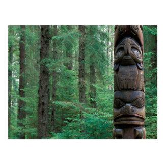 NA, USA, Alaska, Sitka, Sitka Totem Park, A Postcard
