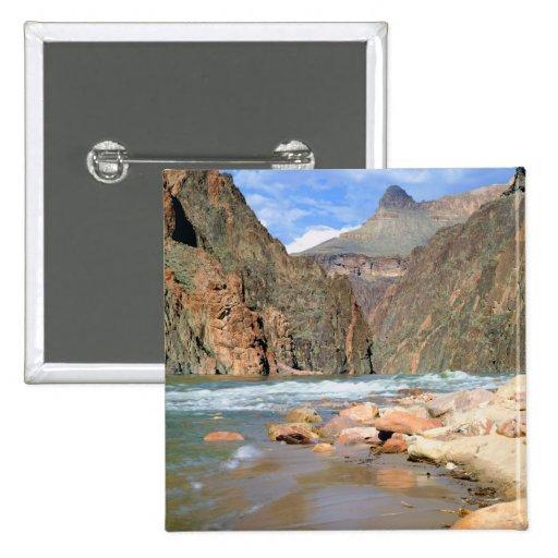 NA, USA, Arizona. Grand Canyon National Park. 2 Buttons