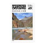 NA, USA, Arizona. Grand Canyon National Park. 2 Postage Stamps