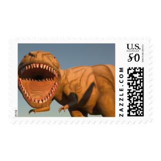 NA, USA, Arizona, Holbrook Dinosaur Park, detail Postage