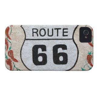 NA, USA, Arizona, Holbrook Route 66 street sign Case-Mate iPhone 4 Case