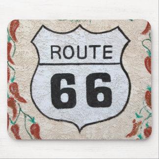 NA, USA, Arizona, Holbrook Route 66 street sign Mouse Pad