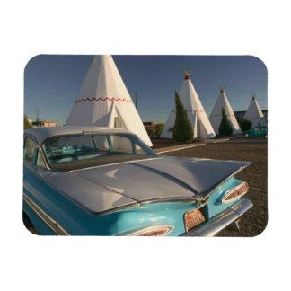 NA, USA, Arizona, Holbrook Route 66, Wigwam 2 Magnet