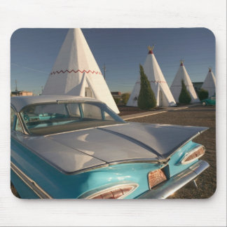 NA, USA, Arizona, Holbrook Route 66, Wigwam 2 Mouse Pad