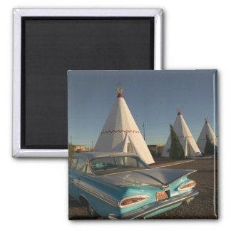 NA, USA, Arizona, Holbrook Route 66, Wigwam Magnet