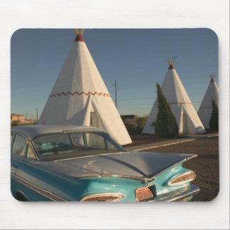 NA, USA, Arizona, Holbrook Route 66, Wigwam Mouse Pad