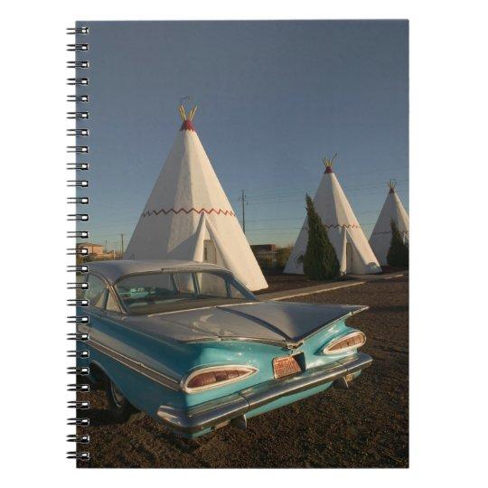 NA, USA, Arizona, Holbrook Route 66, Wigwam Notebook