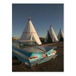 NA, USA, Arizona, Holbrook Route 66, Wigwam Postcard