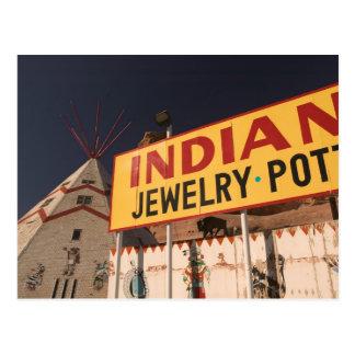 NA, USA, Arizona, Lupton Yellowhorse Indian Postcard