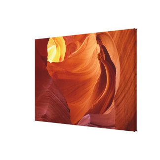 NA, USA, Arizona, Paria canyon. Sandstone 2 Canvas Print