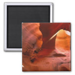 NA, USA, Arizona, Paria Canyon. Sandstone 2 Inch Square Magnet