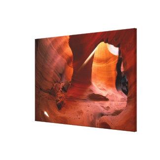 NA, USA, Arizona, Paria Canyon. Sandstone Gallery Wrapped Canvas