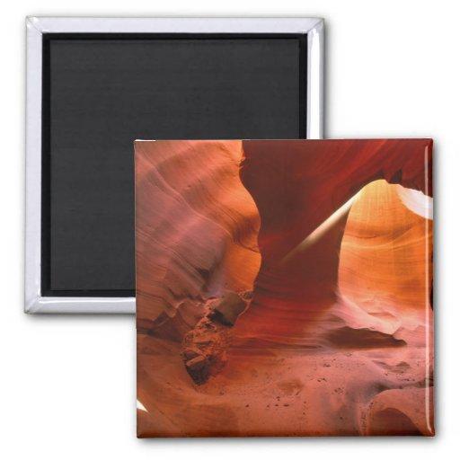 NA, USA, Arizona, Paria Canyon. Sandstone Fridge Magnet