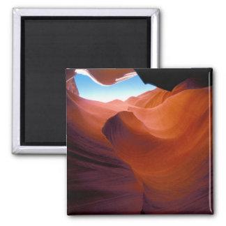 NA, USA, Arizona, Paria canyon. Sandstone Magnet